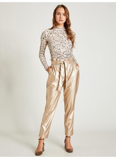 Vekem-Limited Edition Pantolon Altın